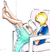 Lazy Bookworm